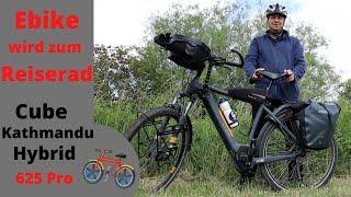 E-Bike Umbau zum Reiserad I Lowrider, Griffe und Sattel