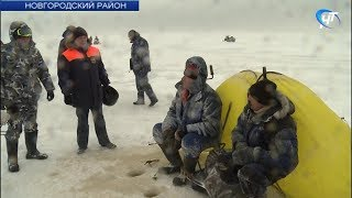 МЧС и рыбоохрана провели рейд по побережью Ильменя