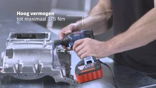 Bosch Accudraaislagmoeraanzetter GDR 14,4/18V-LI & Slagmoeraanzetter GDS 14,4/18V-LI Professional