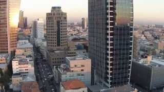 preview picture of video 'First flight Phantom 2 Vision Plus above Tel-Aviv'