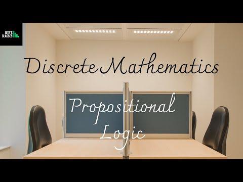 DISCRETE MATHEMATICS - PROPOSITIONAL LOGIC - BASIC DEFINITIONS