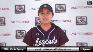 2022 Emily Guerra Outfield and Middle Infield Softball Skills Video - Norcal Legends