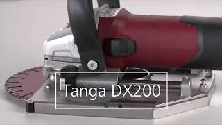 Fresatrice a mano LAMELLO TANGA DX200