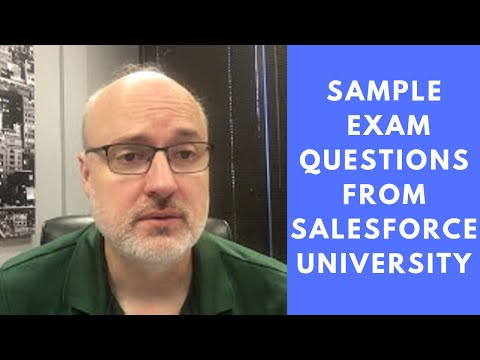 Sample Exam Questions from Salesforce University - YouTube