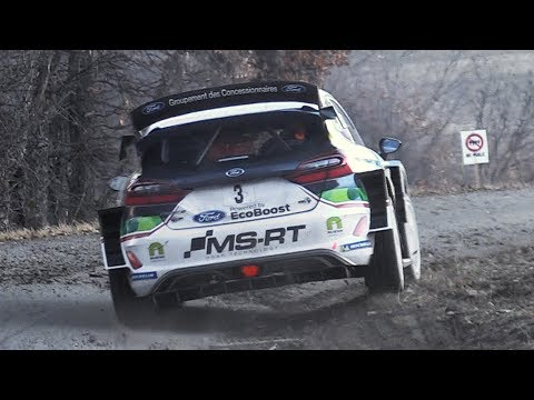 WRC Monte-Carlo 2018: Action & Sounds from Wednesday Shakedown!