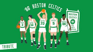 86' CELTICS - TEAMWORK