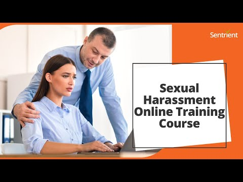 Sexual Harassment Online Training Course   Sentrient - YouTube