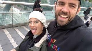 Adam22 and Lena Japanese Mall Vlog