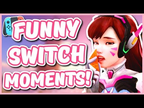 Overwatch - THE #1 OVERWATCH PLAYER ON THE SWITCH (Funny Moments)