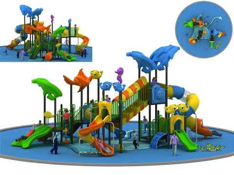 Outdoor playground for children Festopolis