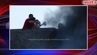 ਅੰਮ੍ਰਿਤਸਰ : ਘਰ ਨੂੰ ਲੱਗੀ ਅੱਗ 'ਚ ਲੱਖਾਂ ਦਾ ਨੁਕਸਾਨ