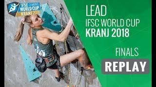 IFSC Climbing World Cup - Kranj 2018 - Lead - Finals
