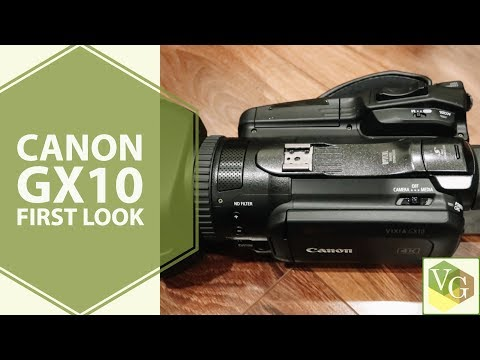 4K Camcorders | Canon GX10