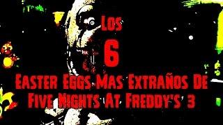 Los 6 Easter Eggs Mas Extraños En Five Nights At Freddy's 3   fnaf 3