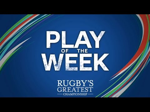 RBS Play of the Week – Round 4 2016   RBS 6 Nations