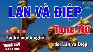 karaoke-chuyen-tinh-lan-va-diep-tone-nu-nhac-song-trong-hieu