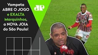 'Cara, eu já tinha visto esse Marquinhos jogar no Sub-15 e…' Vampeta exalta nova joia do São Paulo