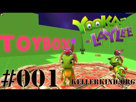 Yooka Laylee Toybox (1/3) ★ Livestream vom 15.12.16 ★ EmKa plays Yooka Laylee [HD|60FPS]