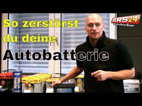 So zerstörst Du Deine Autobatterie! I Wie geht man mit Batterien um? I Tutorial I ARS24