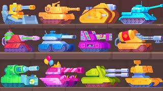 Tank Stars All Tanks Gameplay | ALL WINS