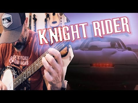 Knight Rider BANJO Cover