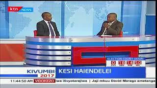 KESI HAIENDELEI: Maoni kutokana na uhairishwaji wa shughulu hiyo ya kesi ya upigaji wa kura