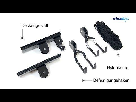 Aufbauanleitung Fahrradlift Montage