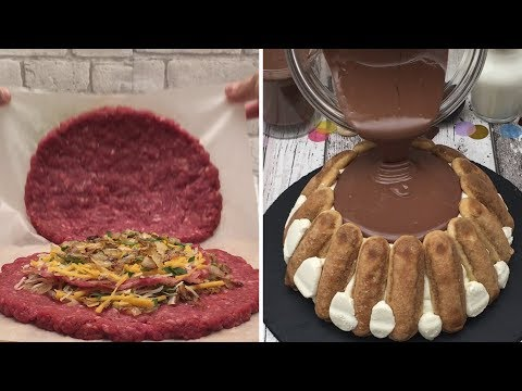 Butter Chicken  Volcanic Tiramisu  Tex-Mex Party  XXL Dishes for Sharing