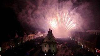 preview picture of video 'Novoročný ohňostroj Bardejov 2012'