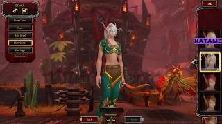 First time in WoW: Character Creation