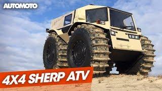 Sherp ATV, Le 4x4 Amphibie Venu Du Froid