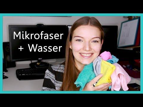 schonendes Abschminken mit Mikrofaser und Wasser | Langzeittest & Erfahrung | Tipps & Hinweise