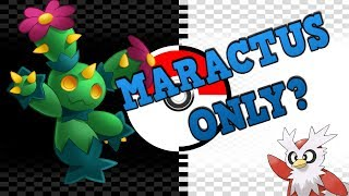 Maractus  - (Pokémon) - Can you beat Pokémon BLACK/WHITE using only a MARACTUS? (NO ITEMS)