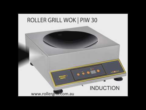 NEW Roller Grill Induction Range