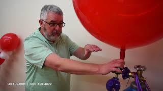How To Fill A Jumbo Latex Balloon