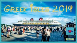 Disney Cruise 2014 - Mediterranean - Greek Isles