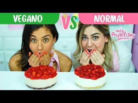 Dos YouTubers Preparan Dos Versiones De Cheesecake