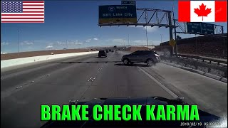 POLICE VS CARS 👮 Instant Karma USA & Canada   Instant Justice, Police Chase, Fails on camera 2019