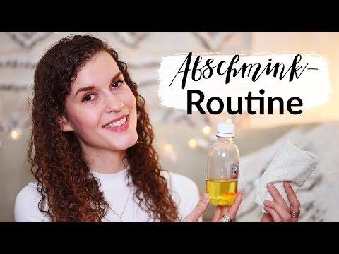 Natürliche & Minimalistische Abschminkroutine - für trockene und unreine Haut | heylilahey