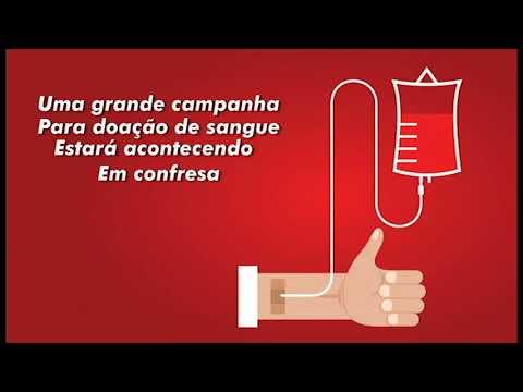 Campanha doação de Sangue em Confresa