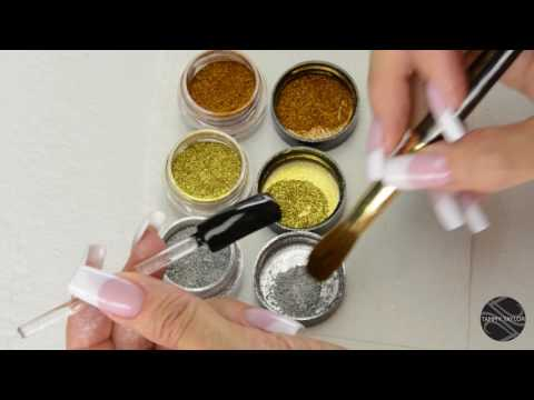♡ Tammy Taylor Metallic-Chrome-Ombre Dazzle Dust Demos
