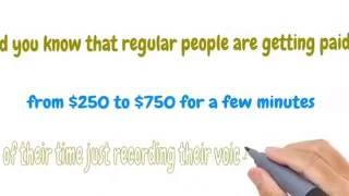 GET PAID FOR SPEAKING ENGLISH