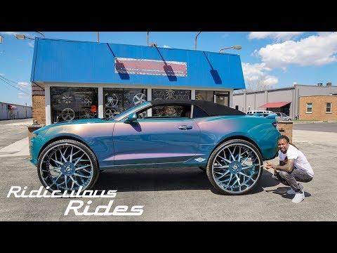 Custom Camaro With Insane 32-Inch Wheels | RIDICULOUS RIDES