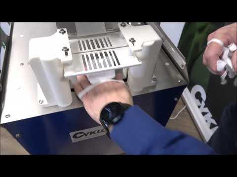 Elastobinder: Label komt niet goed uit de machine