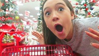 Shop With Me for HOLIDAY Room Decor At TARGET | Fiona Frills