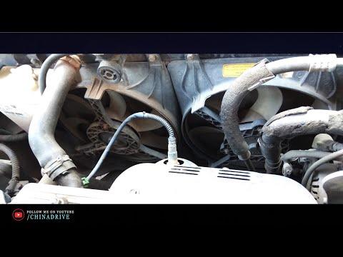 Схема Срабатывания Вентиляторов - Перегрев Двигателя - Geely CK