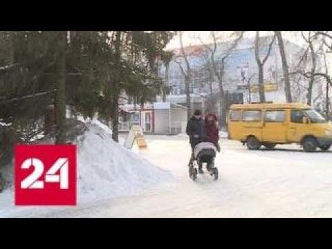 В Пензенской области начали выплачивать пособия за рождение первенца - Россия 24