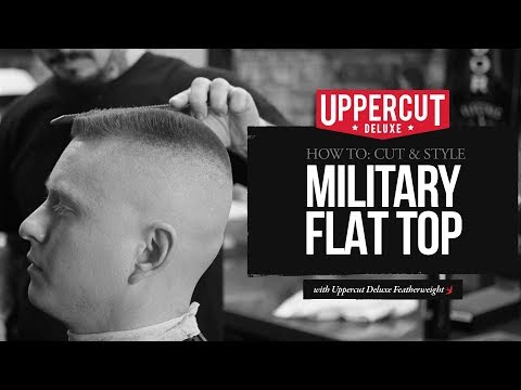 Haircut Tutorial: How to Cut and Style a Military Flat Top | Uppercut Deluxe