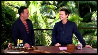 Funny Scene With Ant & Dec In I'm A Celebrity Get Me Out Of Here 2011