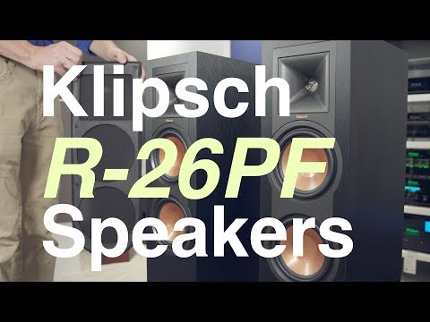 Overview: Klipsch Reference R-26PF Black Floorstanding Speakers